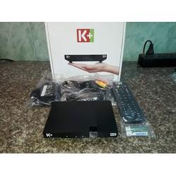 Đầu thu vệ tinh  K+ HD  chính hãng kèm đủ phụ kiện