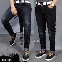 Quần Jeans Nam Xước Nhẹ   MS 184