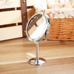 Gương Trang Điểm Mini 2 Mặt Phẳng Để Bàn - Tròn