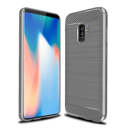 Ốp Lưng Samsung S9 Plus Chống Sốc Dẻo Màu Xám