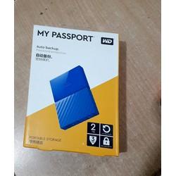 Ổ cứng di động WD My Passport 2TB XANH