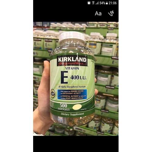 Viên uống bổ sung Vitamin E 400 I.U Kirkland Signature - 5390211 , 9007897 , 15_9007897 , 400000 , Vien-uong-bo-sung-Vitamin-E-400-I.U-Kirkland-Signature-15_9007897 , sendo.vn , Viên uống bổ sung Vitamin E 400 I.U Kirkland Signature