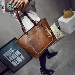 TOTE túi xách phong cách Hàn Quốc hàng đẹp giá tốt 2018 Freeship