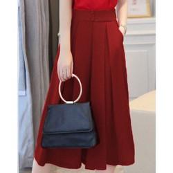 quần ống rộng phối túi fashion