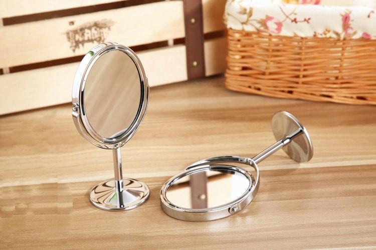 Kết quả hình ảnh cho Gương Tròn Trang Điểm 2 Mặt Gương
