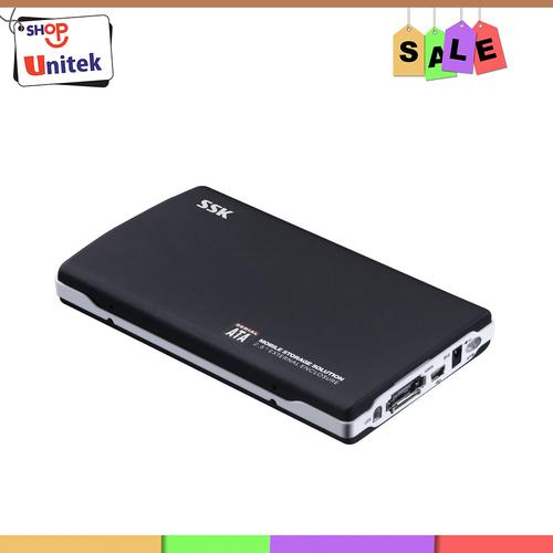 HDD Box Sata 2.5 SSK SHE037 Đen - Hộp đựng ổ cứng