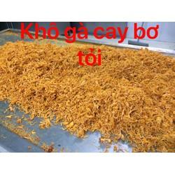 500g Khô gà Bơ tỏi CAY GIÒN Lày Hoà