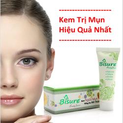 Kem trị mụn hiệu quả nhất thị trường Bisure
