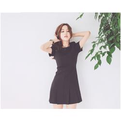Váy đen liền thân - Kèm hình chụp sản phẩm- Sẵn size M