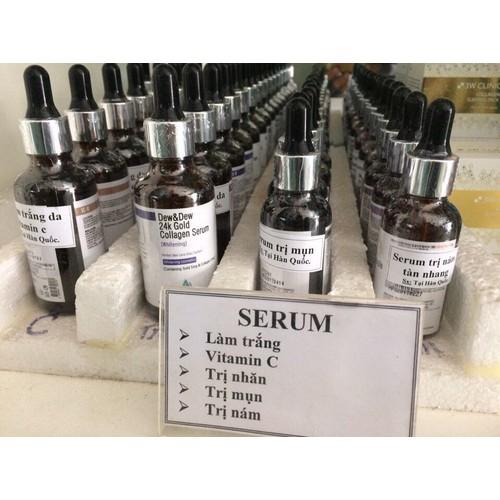 serum dưỡng trắng da dew 24k