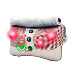 Gối mát xa Hồng ngoại 6 bi Hàn quốc- massage vai, lưng, gáy,chân,tay