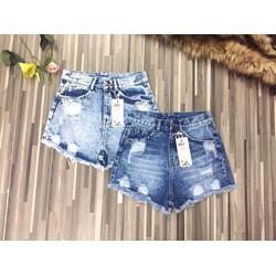 Quần short Jean nữ thời trang, kiểu dáng năng động trẻ trung, mẫu mới