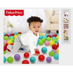 Túi 100 bóng nhựa fisher price
