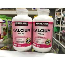 Calcium Kirkland 600mg+ D3