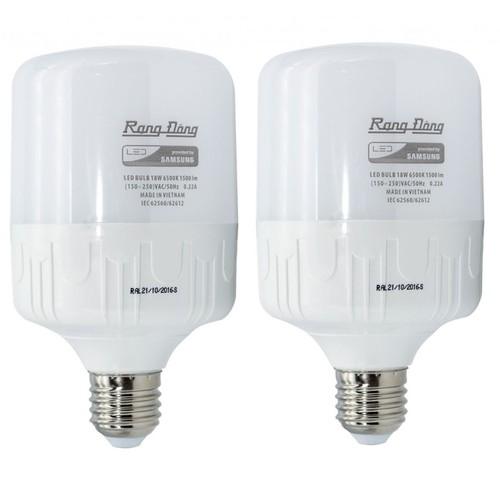 Bộ 2 bóng đèn 50W Rạng Đông LED Bulb trụ E27 - 5395556 , 9018172 , 15_9018172 , 367000 , Bo-2-bong-den-50W-Rang-Dong-LED-Bulb-tru-E27-15_9018172 , sendo.vn , Bộ 2 bóng đèn 50W Rạng Đông LED Bulb trụ E27