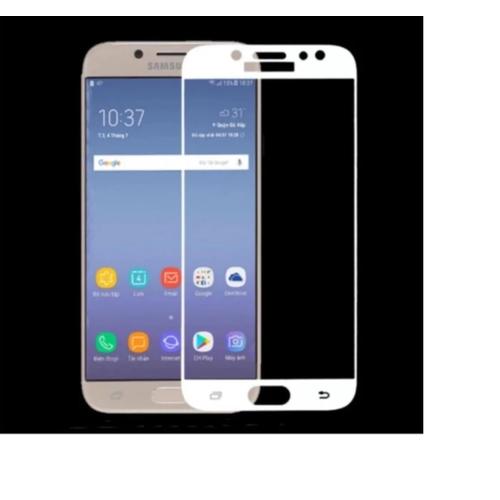 Kính cường lực 3D Full màn cho Samsung C9 . C9 PRO trắng