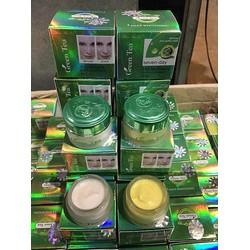 Kem Đặc Trị Nám Trắng Da Green Tea hua shu li Trà Xanh bong da tẩy nám