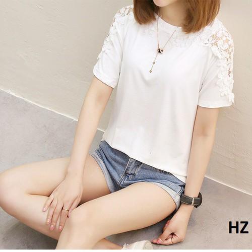 Áo phông hè nữ - hàng nhập - giống hình HZ 23