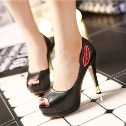 Giày cao gót đá môi cao cấp
