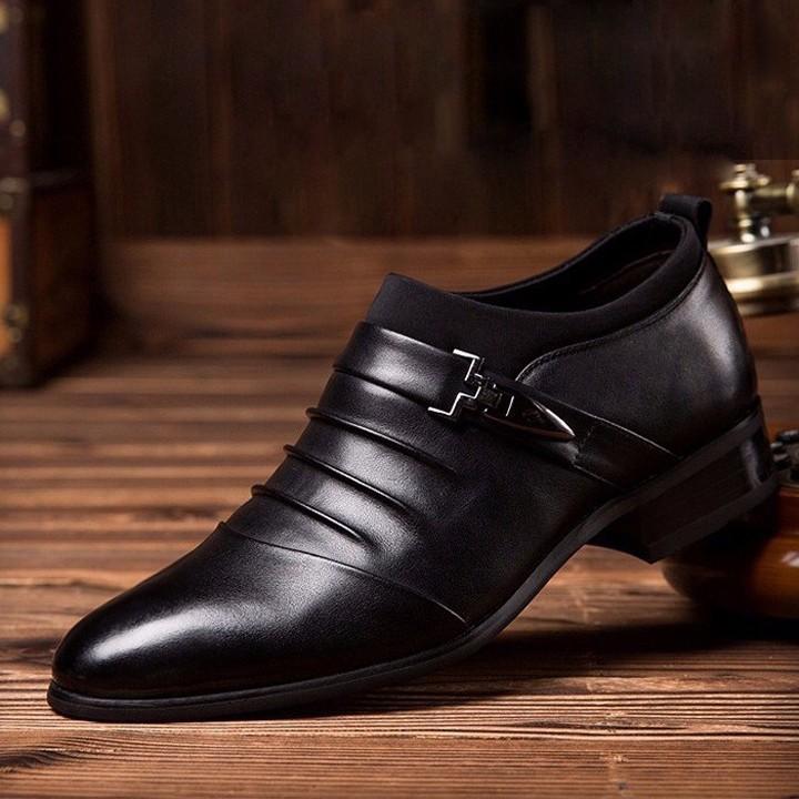 Giày tăng chiều cao nam G312D cao thêm 7cm 11