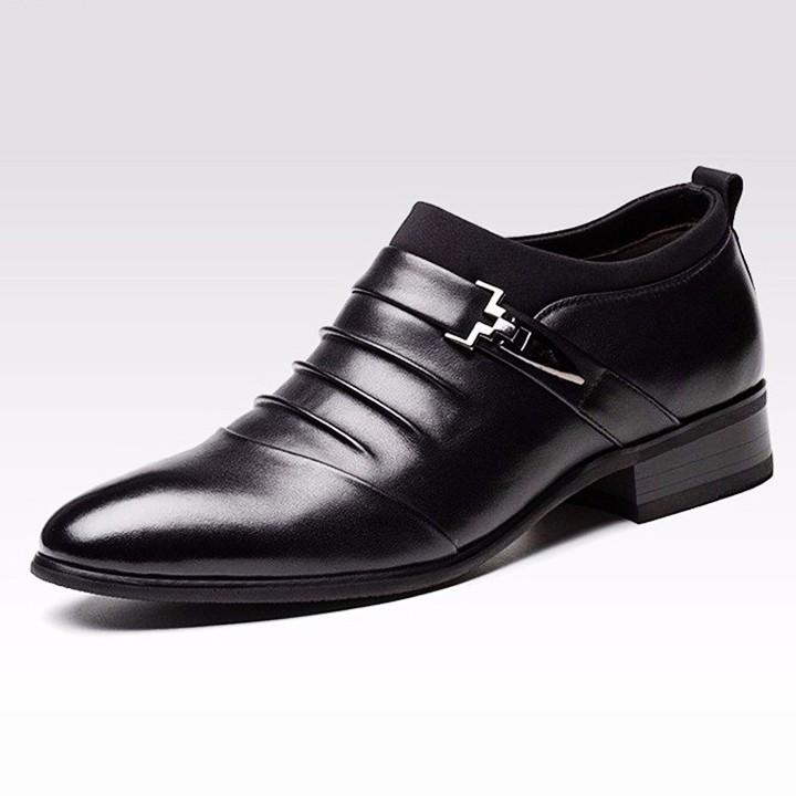 Giày tăng chiều cao nam G312D cao thêm 7cm 9
