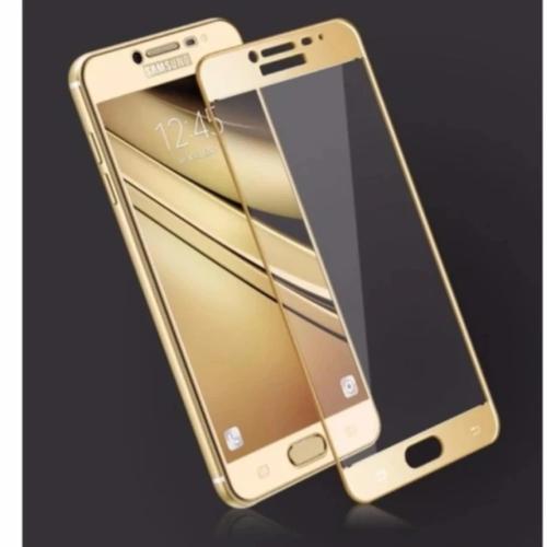Kính cường lực 3D Full màn cho Samsung C9 .C9 PRO vàng