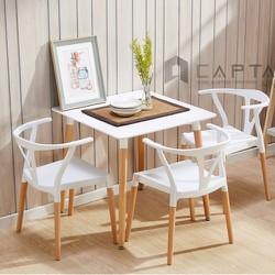 Bộ bàn ăn nhỏ 3 ghế cho chung cư, phòng diện tích nhỏ tại hcm