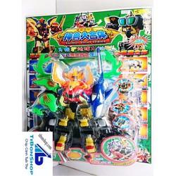 Bộ đồ chơi Robot Siêu nhân GAO biến hình 8035