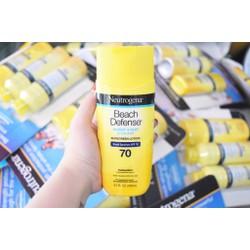 Kem chống nắng Neutrogena Beach sunscreen lotion SPF 70