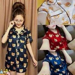 Bộ quần áo Bộ đồ ngủ pijama mặc ở nhà mùa hè - BN01