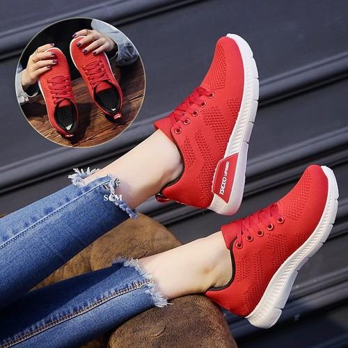Giày thể thao trơn Tesxo | giày bata nữ