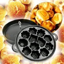 Khuôn Làm Bánh Bông Lan Nướng Chống Dính 12 Bánh Thom Ngon Hàng VNCLC