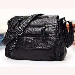 Túi xách thời trang nữ da mềm 3 dây kéo - LN1506