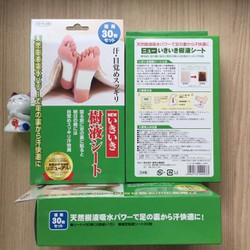 Miếng dán thải độc cơ thể Nhật