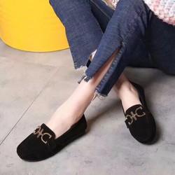 Giày mọi nữ khoá mới cực xinh