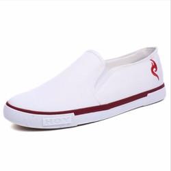 Giày Lười Vải Nam Đẹp - Đi Êm Không Đau Chân