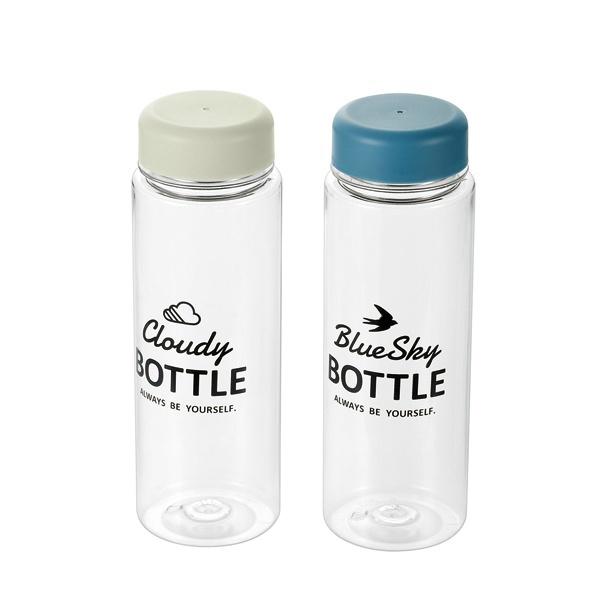 Bình uống nước có nắp đậy 500ml nắp xanh hoặc trắng 1