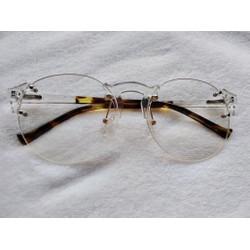 Mắt kính gọng trắng - LIU STORE Quần áo Unisex và Phụ Kiện Thời Trang