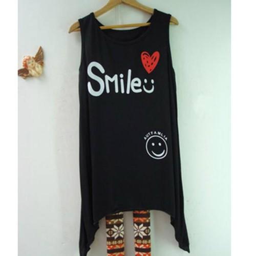 áo thun sát nách mặt cười smile Mã: AN291 - 3
