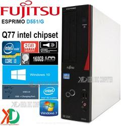 Máy tính đồng bộ Nhật Bản FUJITSU D551G Core i3 2Gb ram 160Gb HDD
