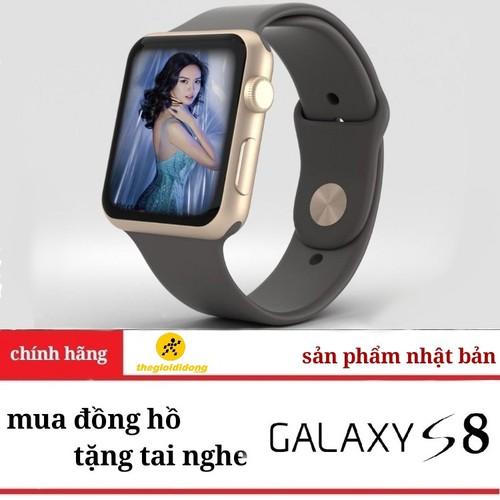 mua đồng hồ nhật tặng tai nghe GALAXY S8 mã VIP-13