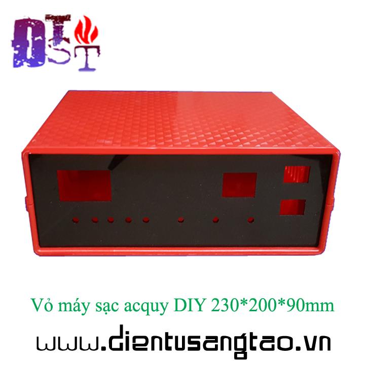 Vỏ máy sạc acquy DIY 230*200*90mm 1