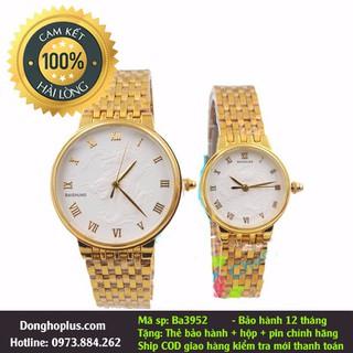 Đồng hồ đôi mặt rồng nam nữ chống nước, chống xước - Đồng hồ đôi mặt rồng thumbnail