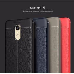 Ốp lưng dùng cho máy Xiaomi Redmi 5 giả da chống sốc