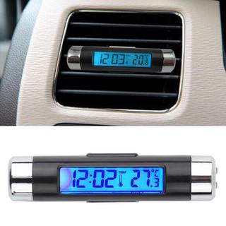 Đồng hồ kiêm nhiệt kế kẹp cửa gió ô tô - HL 21207 thumbnail