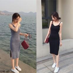 Đầm ôm body 2 dây xinh xắn