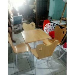 thanh lý bàn ghế gỗ gấp