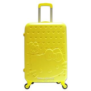 Vali kéo thời trang Mèo Kitty nhựa nhám size 24 màu vàng TL037 - TL037-MI thumbnail