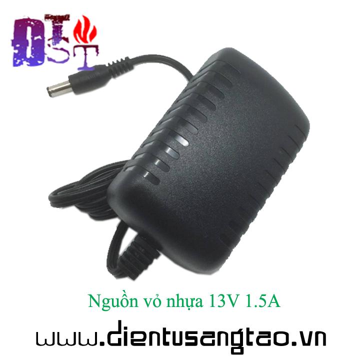 Nguồn vỏ nhựa 13V 1.5A 6