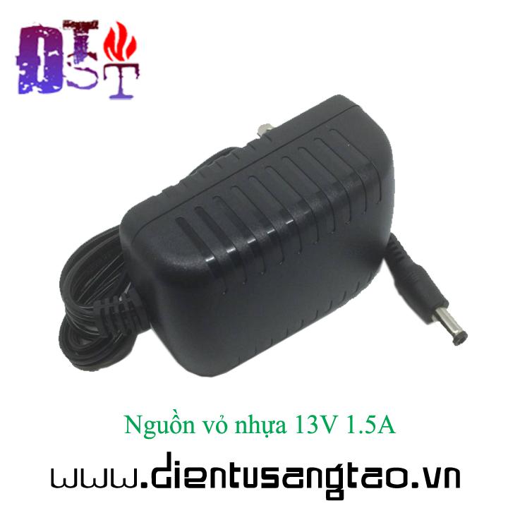 Nguồn vỏ nhựa 13V 1.5A 4